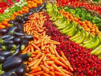 Colourful display of vegetables, GMO or not?